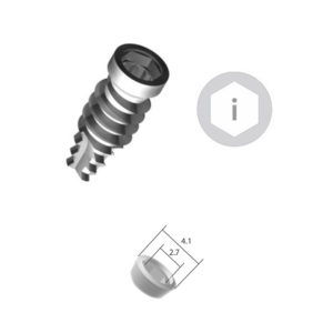 Implante Conexión Interna Hexagonal – Plataforma 4.1 – Cpo. 4.0 mm – SURHI